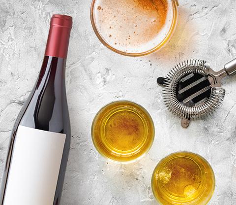 Birra, Vino e Superalcolici