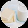 Latte, burro e yogurt
