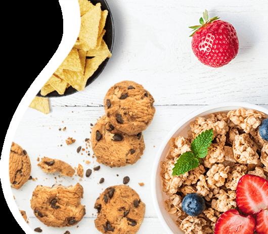 In termini assoluti, le categorie che hanno avuto la variazione positiva più elevata da ottobre a novembre sono state <strong>colazione, dolciumi e snack</strong> e <strong>pasta, riso e cereali,</strong>, con 0,11€ medi per ordine spesi in più rispetto al mese scorso.
